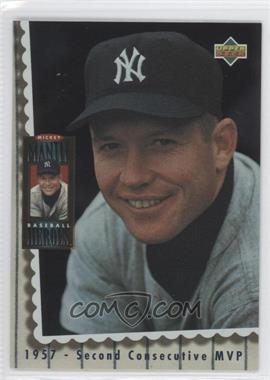 1994 Upper Deck - Mickey Mantle Baseball Heroes #67 - Mickey Mantle