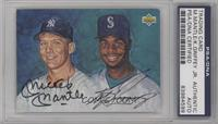 Ken Griffey Jr., Mickey Mantle [PSA/DNA Certified Auto]