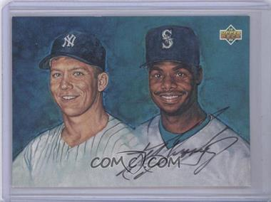 1994 Upper Deck - Mickey Mantle Ken Griffey Jr. Autographs #KEGR - Ken Griffey Jr. (Autograph)