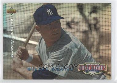 1994 Upper Deck - Mickey Mantle's Long Shots - Electric Diamond #MM21 - Mickey Mantle