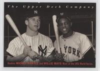 Mickey Mantle, Willie Mays [EXtoNM]