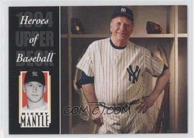 1994 Upper Deck All-Time Heroes - [Base] #222 - Mickey Mantle