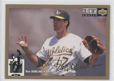 1994 Upper Deck Collectors Choice Base Gold Signature