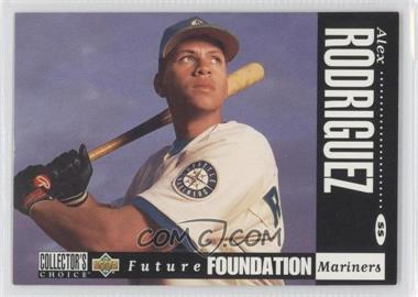 1994 Upper Deck Collector's Choice - [Base] - White Letter Back #647 - Alex Rodriguez