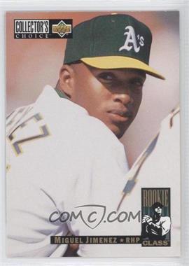 1994 Upper Deck Collector's Choice - [Base] #12 - Miguel Jimenez