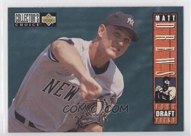 1994 Upper Deck Collector's Choice - [Base] #30 - Matt Drews