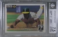 Rickey Henderson [BGS 7.5 NEAR MINT+]