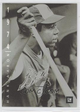 1994 Upper Deck General Motors Ken Burns Baseball: The American Epic - GM Dealership [Base] #1 - Hank Aaron