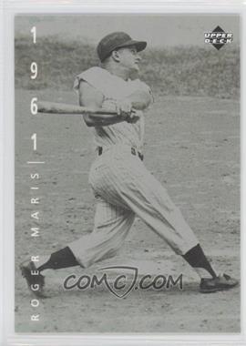 1994 Upper Deck Ken Burns Baseball: The American Epic - [Base] #67 - Roger Maris
