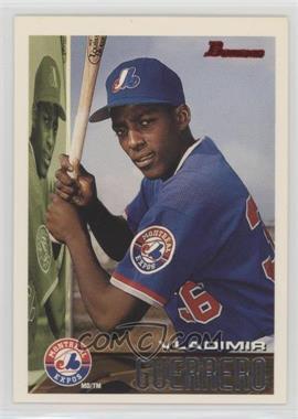 1995 Bowman - [Base] #90 - Vladimir Guerrero