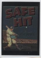 Phil Rizzuto (Safe Hit Vegetable Crate Label)