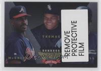 Fred McGriff, Frank Thomas, Jeff Bagwell