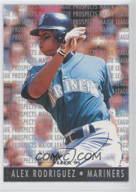 1995 Fleer - Major League Prospects #10 - Alex Rodriguez