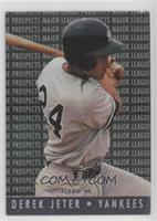 Derek Jeter (MLB and MLB Properties Logos on Back)