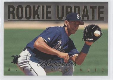1995 Fleer Update - Rookie Update #9 - Alex Rodriguez