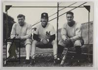 Babe Ruth, Don Mattingly, Lou Gehrig