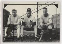 Babe Ruth, Don Mattingly, Lou Gehrig