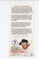 Mickey Mantle (Join Mickey's Team on 3 Lines)
