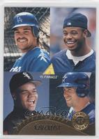 Mike Piazza, Frank Thomas, Ken Griffey Jr., Jeff Bagwell
