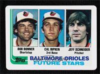 Bob Bonner, Cal Ripken Jr., Jeff Schneider #/2,130