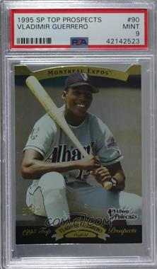 1995 SP Top Prospects - [Base] #90 - Vladimir Guerrero [PSA 9 MINT]