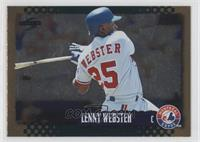 Lenny Webster