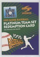 Platinum Team Set Redemption card