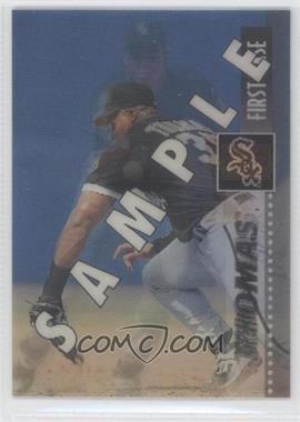 1995 Sportflix - [Base] - Samples #20 - Frank Thomas