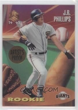 1995 Sportflix UC3 - [Base] - Artist's Proof #99 - J.R. Phillips