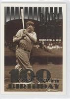 Babe Ruth (No Topps Logo on Top Left Corner)
