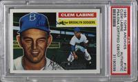 Clem Labine [PSA/DNACertifiedAuto]