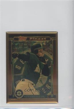1995 Topps Finest Bronze - [Base] #4 - Ken Griffey Jr.