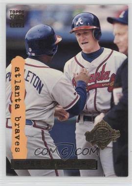 1995 Topps Stadium Club - [Base] - Super Teams World Series #1 - Atlanta Braves