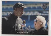 Michael Jordan, Harry Caray [EX to NM]