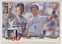 George Brett, Robin Yount, Dave Winfield