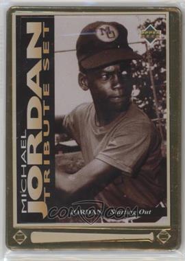 1995 Upper Deck/Metallic Impressions Michael Jordan Tribute - [Base] #JT1 - Michael Jordan