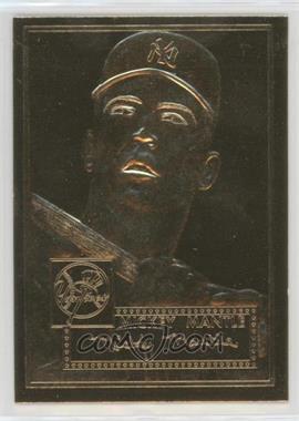 1996-97 Topps 23K Gold 1952 Reprints - [Base] #311 - Mickey Mantle /50000
