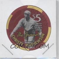 1996 Bally The Grand 1936 Inaugural Election 60th Anniversary $5 Chips - [Base] #CHMA - Christy Mathewson