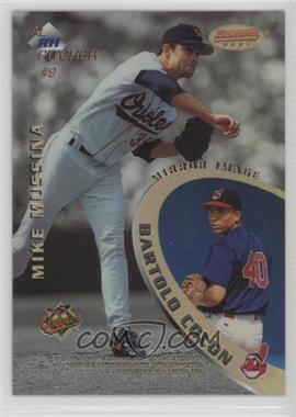 1996 Bowman's Best - Mirror Image - Refractor #9 - Greg Maddux, Jamey Wright, Mike Mussina, Bartolo Colon