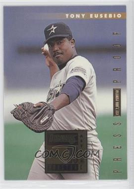1996 Donruss - [Base] - Press Proof #200 - Tony Eusebio /2000