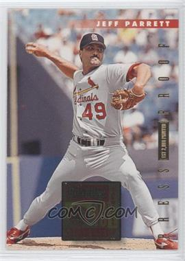1996 Donruss - [Base] - Press Proof #542 - Jeff Parrett /2000