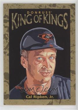 1996 Donruss - Diamond Kings #DK-30 - Cal Ripken Jr. /10000
