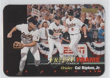 1996 Donruss - Freeze Frame #3 - Cal Ripken Jr. /5000