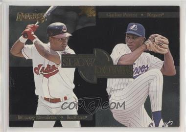 1996 Donruss - Showdown #8 - Manny Ramirez, Carlos Perez /10000
