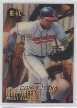 1996 E-Motion XL - Rare Breed #9 - Manny Ramirez
