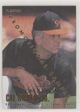 1996 Fleer - Promo #20 - Cal Ripken Jr.