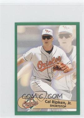1996 Fleer Album Stickers - [Base] #128 - Cal Ripken Jr.