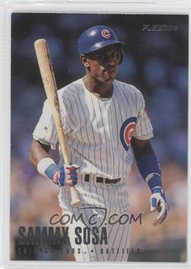 1996 Fleer Team Sets - Chicago Cubs #17 - Sammy Sosa