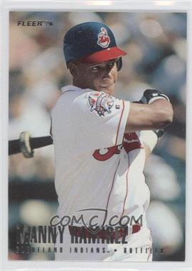 1996 Fleer Team Sets - Cleveland Indians #15 - Manny Ramirez