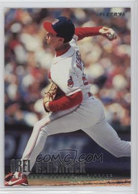 1996 Fleer Team Sets - Cleveland Indians #5 - Orel Hershiser